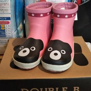 ダブルビー(DOUBLE.B)の春セール15.0cmミキハウスmikihouseダブルビー長靴(長靴/レインシューズ)