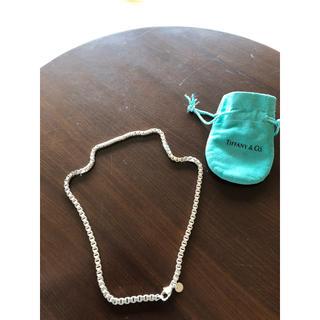 Tiffany & Co. - 綺麗  ティファニー  ベネチアンネックレス  シルバー