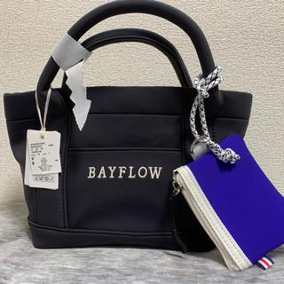 ベイフロー(BAYFLOW)のBAYFLOW トート S ロゴボンディング(トートバッグ)