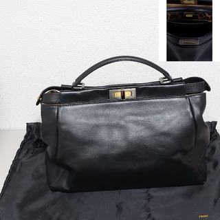 フェンディ(FENDI)のFENDI PEEKABOO レギュラー ハンドバッグ 新品未使用(ハンドバッグ)