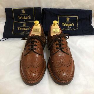 トリッカーズ(Trickers)のレア赤 Tricker's カントリー ウイングチップ 6ハーフ(ドレス/ビジネス)
