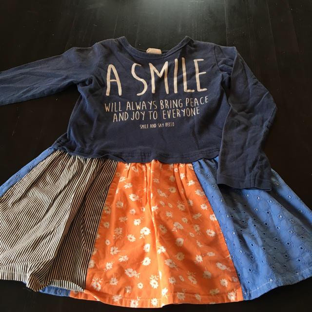 BREEZE(ブリーズ)のワンピース キッズ/ベビー/マタニティのキッズ服 女の子用(90cm~)(スカート)の商品写真