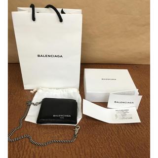 バレンシアガ(Balenciaga)の再出品済みBALENCIAGA バレンシアガ ウォレット チェーン 二つ折  (折り財布)