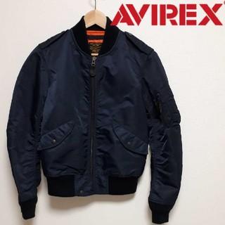 AVIREX   L-2A フライトジャケット ネイビー M