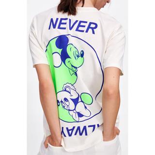 ZARA - ZARA ディズニー コラボ ミッキー ミニー Tシャツ Disney S