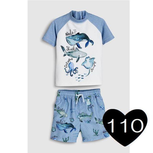 NEXT(ネクスト)の*110*海の生き物 スイムスーツ 水着 キッズ/ベビー/マタニティのキッズ服 男の子用(90cm~)(水着)の商品写真