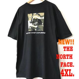 THE NORTH FACE - 4XL レア ☆ ノースフェイス ヘビーウェイト  BOXロゴ Tシャツ 黒