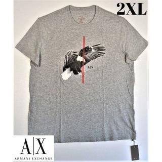 アルマーニエクスチェンジ(ARMANI EXCHANGE)のAX アルマーニ エクスチェンジ Tシャツ 大きいサイズ メンズ 2XL 新品(Tシャツ/カットソー(半袖/袖なし))