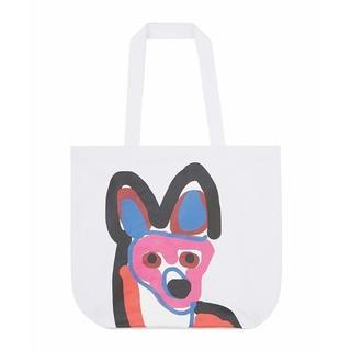 MAISON KITSUNE' - 直営店限定品 TOTE BAG ACIDE FOX ホワイト 人気商品