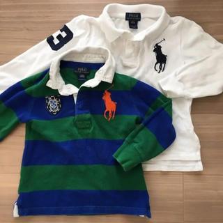 Ralph Lauren - 長袖ポロシャツ 2枚セット 3T