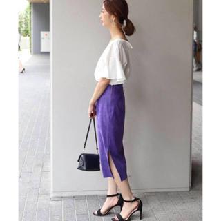Noble - フェイクスエードタイトスカート