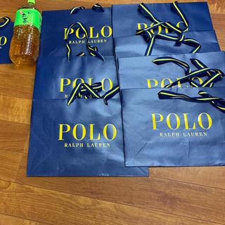 ポロラルフローレン(POLO RALPH LAUREN)のPOLO ポラ 紙袋 ショップ袋 未使用(ショップ袋)