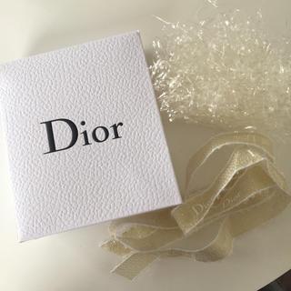 ディオール(Dior)のディオール 箱 リボン プレゼント ギフトボックス(ラッピング/包装)