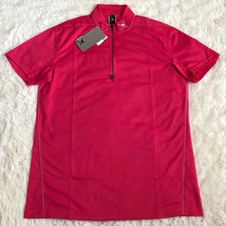 新品未使用 オークリーOAKLEY ハーフジップ半袖シャツ サイズ L