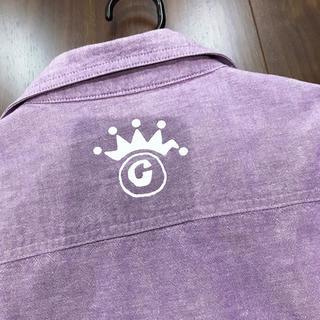 STUSSY - シャツ ストゥシー 紫