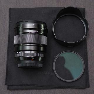 富士フイルム - 8/2まで XF16mmF1.4 R WR + プロテクター