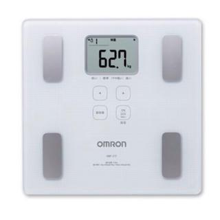 OMRON - 体重計 オムロン 体重体組成計 HBF-217-W ホワイト