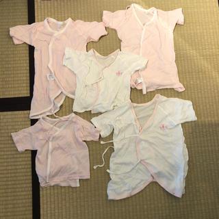 西松屋 - 赤ちゃん ベビー 短肌着 長肌着