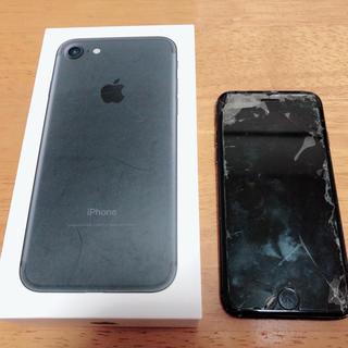 Apple - 22日まで難あり 箱あり iPhone 7 Black 32 GB au