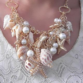 新品◆マーメイドの首飾り(ネックレス)