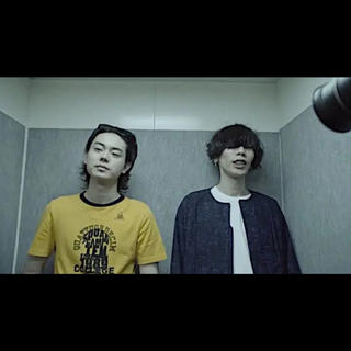 Maison Martin Margiela - メゾンマルジェラ トリムTシャツ 菅田将暉 灰色と青