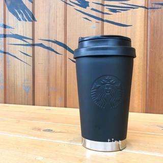 スターバックスコーヒー(Starbucks Coffee)のスターバックス ステンレスボトル ToGoロゴタンブラー マットブラック スタバ(タンブラー)
