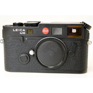 ライカ(LEICA)のLeica M6TTL 0.72 JAPAN(ブラック)名称刻印 美品(フィルムカメラ)