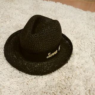 アンパサンド(ampersand)の麦わら帽子 48cm キッズ用(帽子)