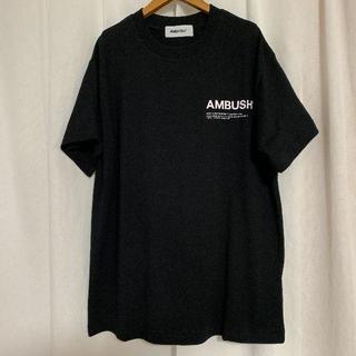 AMBUSH Tシャツ サイズ 3 黒