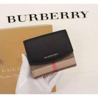 BURBERRY - バーバリー二つ折り財布BURBERRY 美品