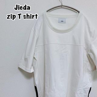 ジエダ(Jieda)のJieda ジエダ 裾ジップ Tシャツ(Tシャツ/カットソー(半袖/袖なし))