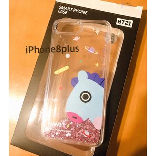 ボウダンショウネンダン(防弾少年団(BTS))のiPhone8plus BT21 ケース(iPhoneケース)