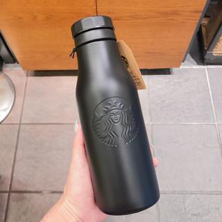 スターバックスコーヒー(Starbucks Coffee)のスターバックス ステンレスロゴボトル タンブラー 黒 ステンレスボトル スタバ(タンブラー)