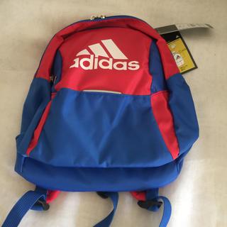 adidas - アディダス ボール用デイパック サッカー 3・4号対応サイズ 赤×青