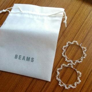 BEAMS - BEAMS フープピアス
