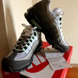 NIKE - NIKE AIR MAX 95 MINT  Nikeショップ購入