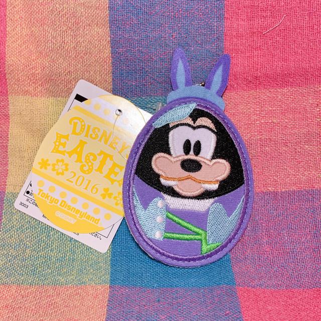 Disney(ディズニー)のグーフィー★ワッペンバッジ エンタメ/ホビーのおもちゃ/ぬいぐるみ(キャラクターグッズ)の商品写真