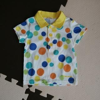 mou jon jon - mou jonjon ポロシャツ 80 水玉