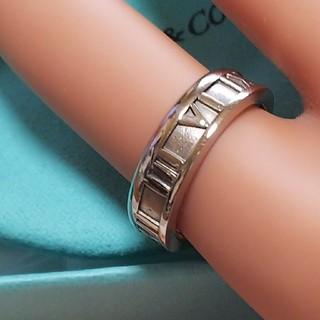 Tiffany & Co. - ティファニーアトラス/AU750ホワイトゴールド