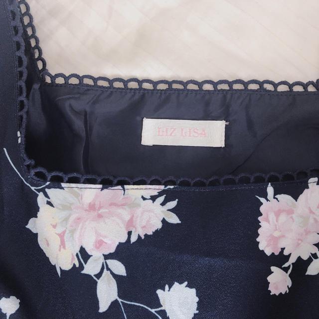 LIZ LISA(リズリサ)の花柄ワンピ   レディースのワンピース(ミニワンピース)の商品写真