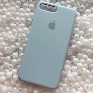 Apple - 箱なし iPhone8plus スカイブルー アップル シリコン ケース