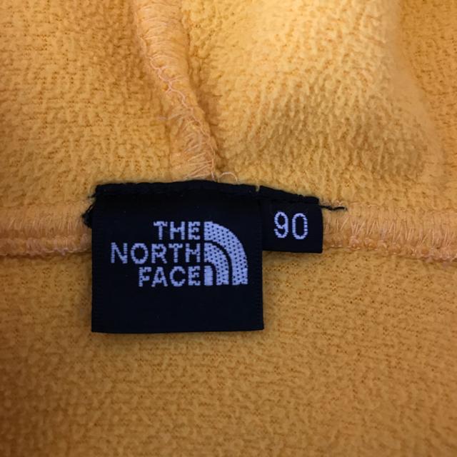 THE NORTH FACE(ザノースフェイス)のノースフェイス フリースベスト90 キッズ/ベビー/マタニティのキッズ服 男の子用(90cm~)(ジャケット/上着)の商品写真