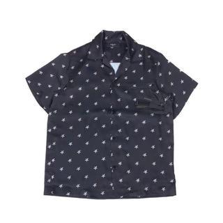 AMIRI 19ss  シャツ  ブラック メンズ S(シャツ)