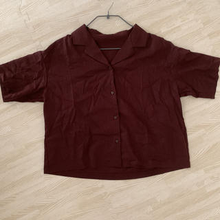 GU - 未使用♡リネンシャツ