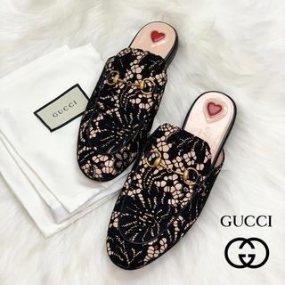 Gucci - 872 GUCCI プリンスタウン レース サンダル