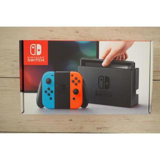 ニンテンドースイッチ(Nintendo Switch)の任天堂 switch 本体(携帯用ゲーム本体)