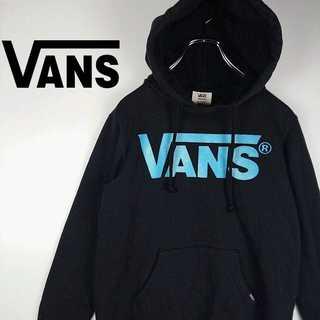 ヴァンズ(VANS)のVANS デカロゴ パーカー 販売終了 ライトブルーロゴ 382(パーカー)