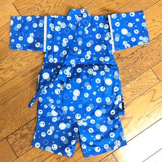 ファミリア(familiar)のfamiliar ファミちゃん柄 甚平 110cm(甚平/浴衣)