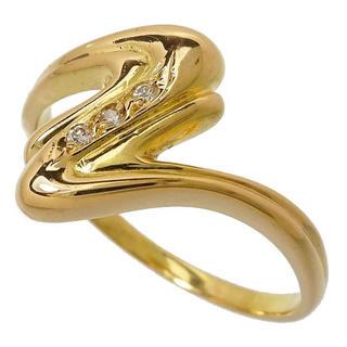 【ダイヤモンド】指輪/リング K18(18金ゴールド)(リング(指輪))