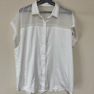 GU/シースルーシャツ